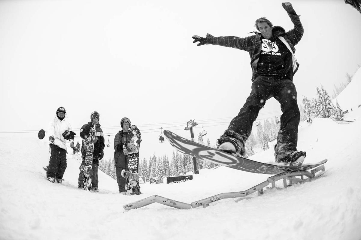 Ted Borland - Tube City / Snoqualmie - Tim Zimmerman Photo