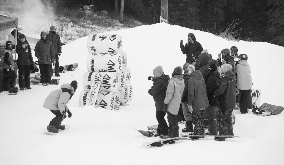 Sean Genovese - BARRELy an Event / Kinsmen Snowboard Centre
